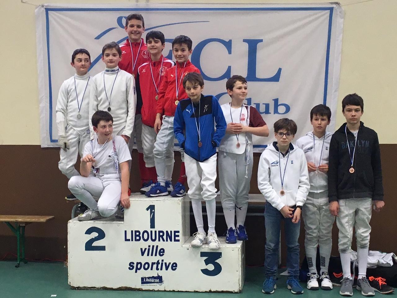 Compétition épée par équipe - Championnat Nouvelle Aquitaine